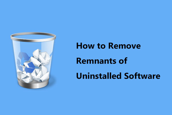 remove remnants of uninstalled software thumbnail