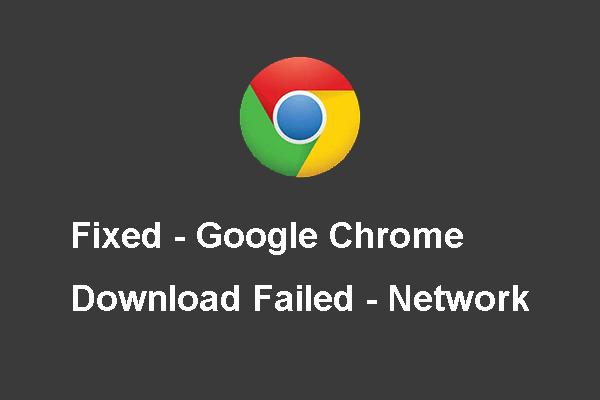 4 Ways To Solve Failed Network Error On Google Drive