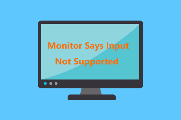 input not supported
