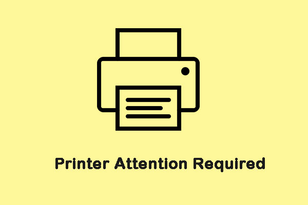 printer attention required thumbnail