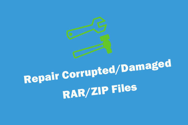 4 Ways To Repair Corrupted Damaged Rar Zip Files For Free