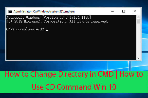 How to Change Directory in CMD   How to Use CD Command Win 10