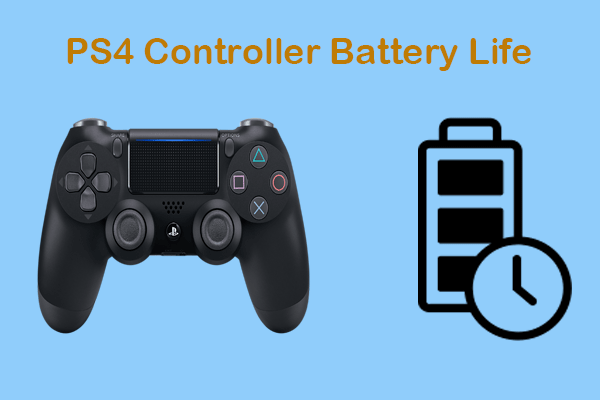 PS4 controller battery life