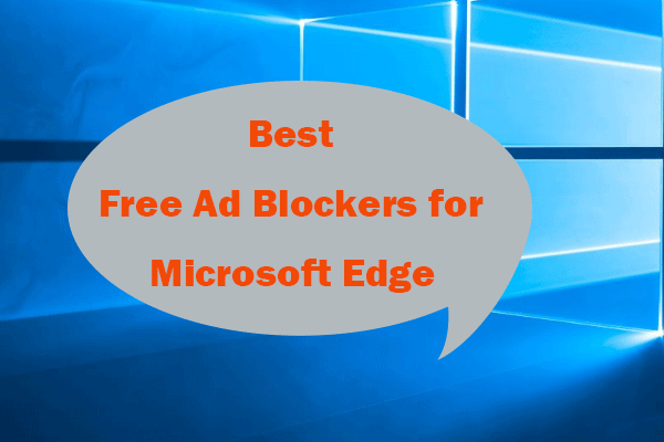 2021 5 Best Free Ad Blockers For Edge Block Ads In Edge