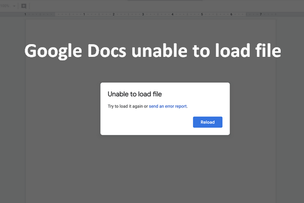 Fix Google Docs Unable To Load File