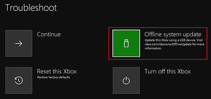 How To Perform An Xbox One Offline Update 2020 Update