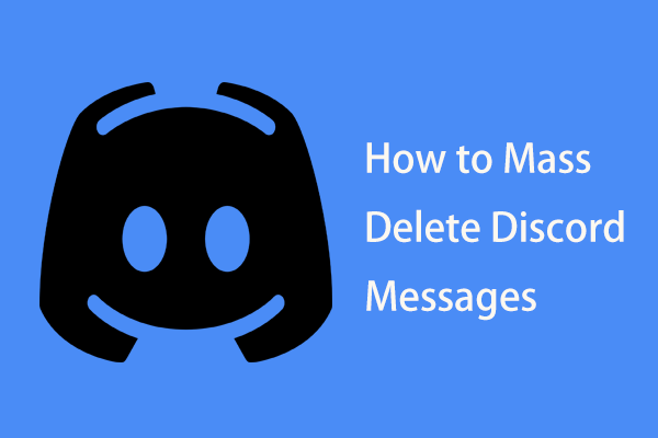 how to mass delete Discord messages