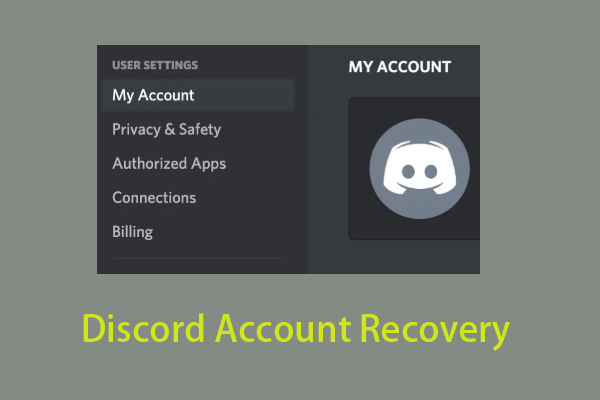 Discord Account Recovery Restore Discord Account