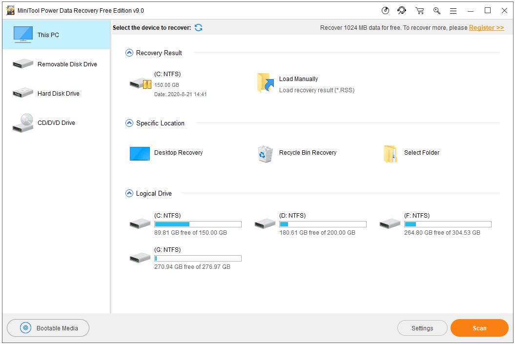 recover lost files on Windows 10