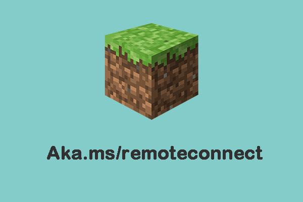 Aka remoteconnect https ms