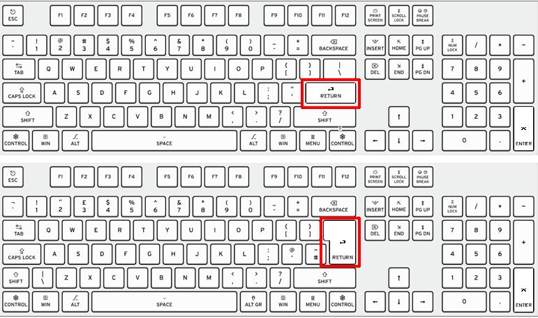 什么是回车键,它在键盘上的什么位置?