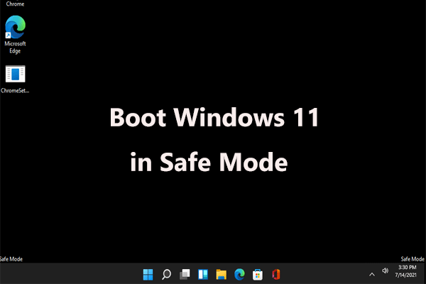 boot windows 11 safe mode thumbnail